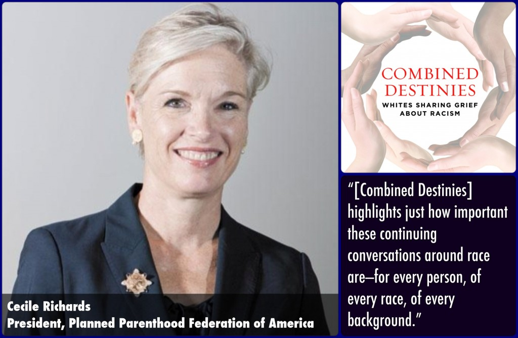 Cecile Richards Combined Destinies Endorsement