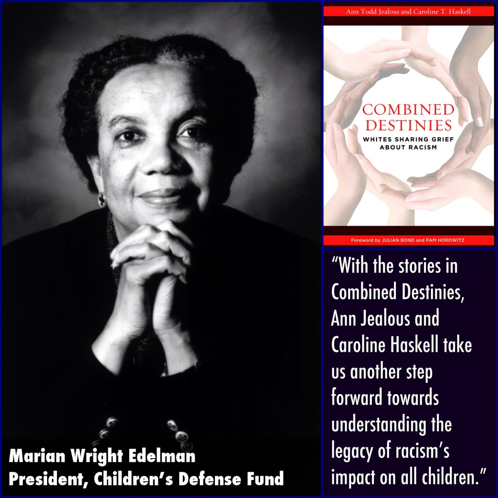Marian Wright Edelman Combined Destinies Endorsement