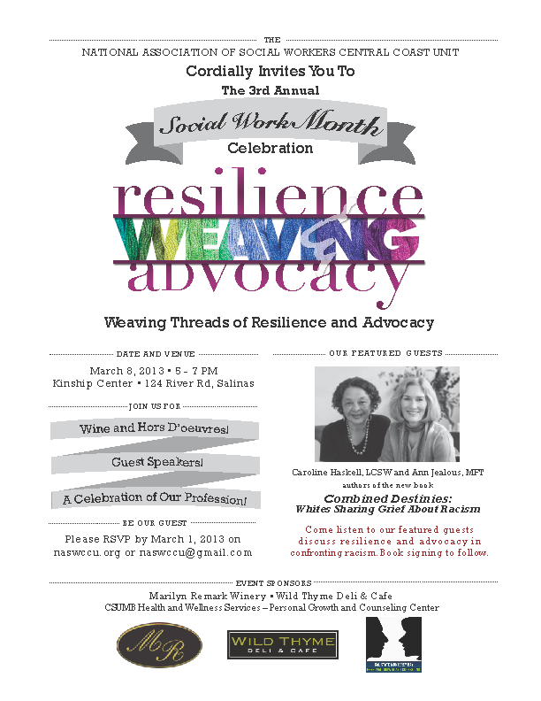 NASW Social Work Month Invitation