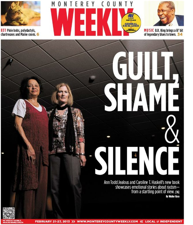 Cover of Ann and Caroline on the Monterey County Weekly (Week of 02/21/2013)